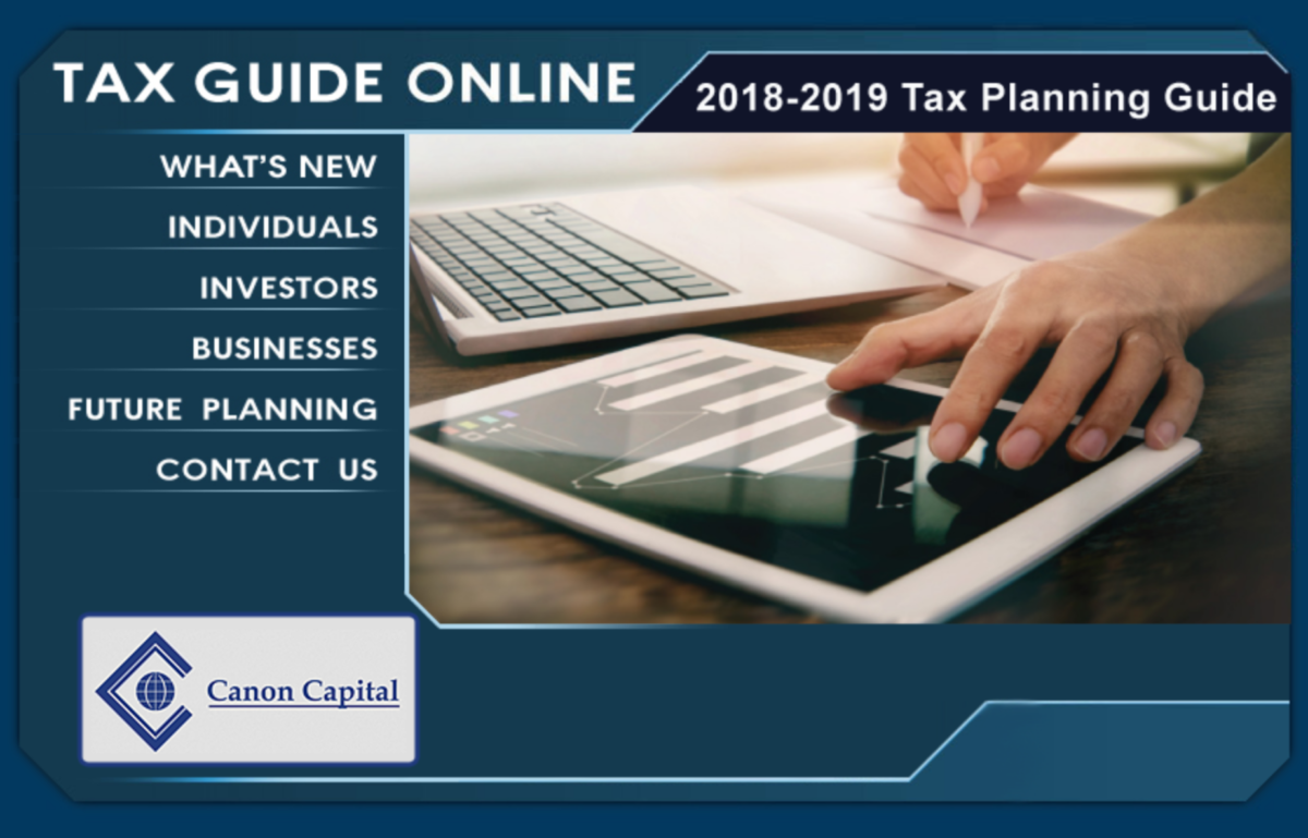 Be Prepared with Our 2018-19 Tax Planning Guide