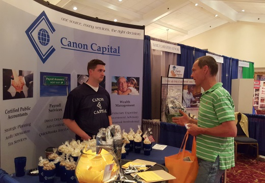 Team Canon Capital at the Indian Valley Chamber of Commerce 2015 Business Expo