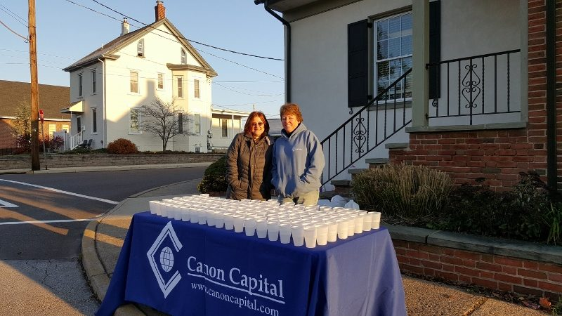 Canon Capital Supports Generations of Indian Valley's Reindeer Run