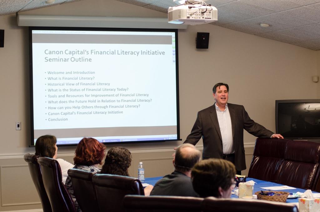 Canon Capital Wealth Management Kicks Off Financial Literacy Initiative