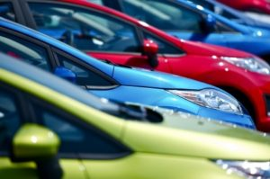 car inventory colorful