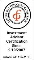 Canon Capital Wealth Management Receives CEFEX Certification of Fiduciary Excellence for Twelfth Consecutive Year