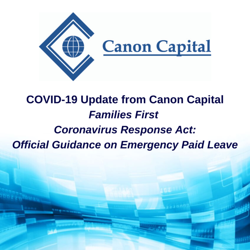 Families First Coronavirus Response Act: Official Guidance on Emergency Paid Leave