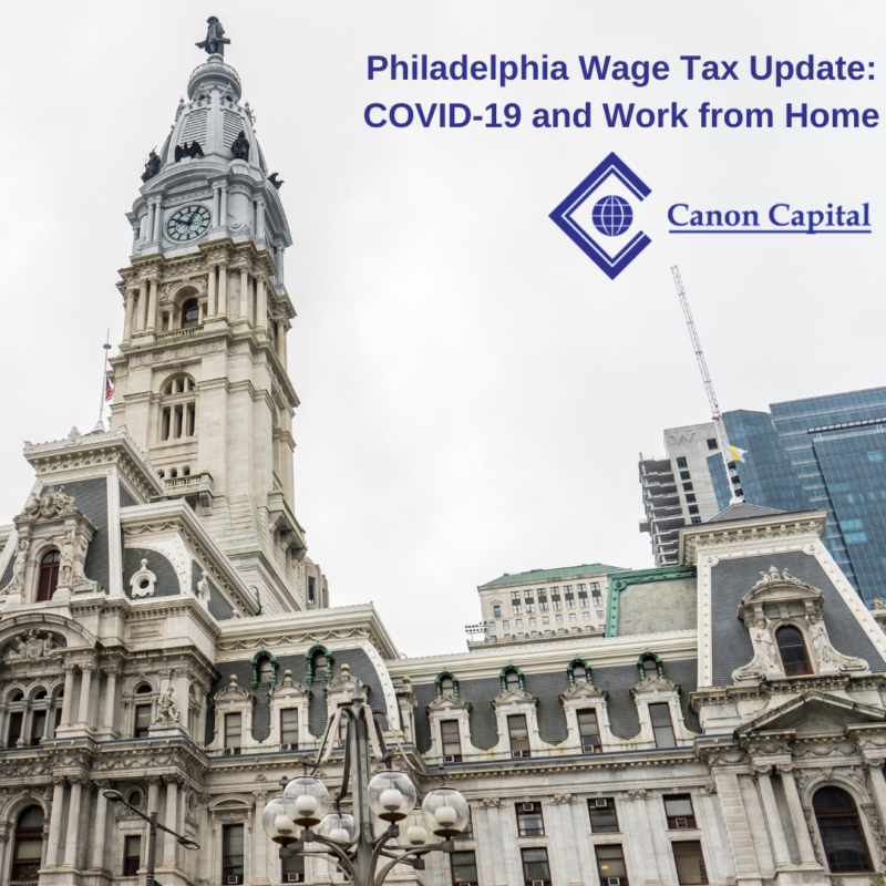 I've Been Working My Philadelphia-based Job from Home in the Suburbs. Do I Need to Pay Philadelphia Wage Tax?