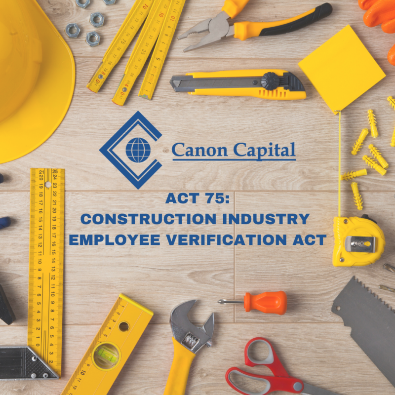 Pennsylvania Construction Employers Must Now Comply with E-verification of Employee Social Security Numbers