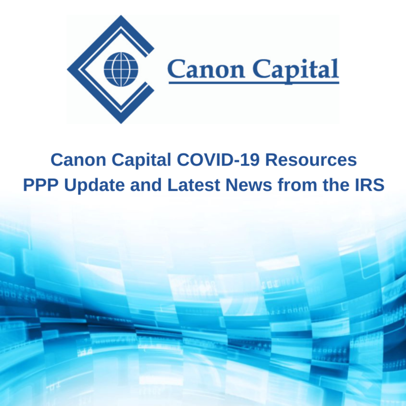 PPP Update: Latest News from the IRS