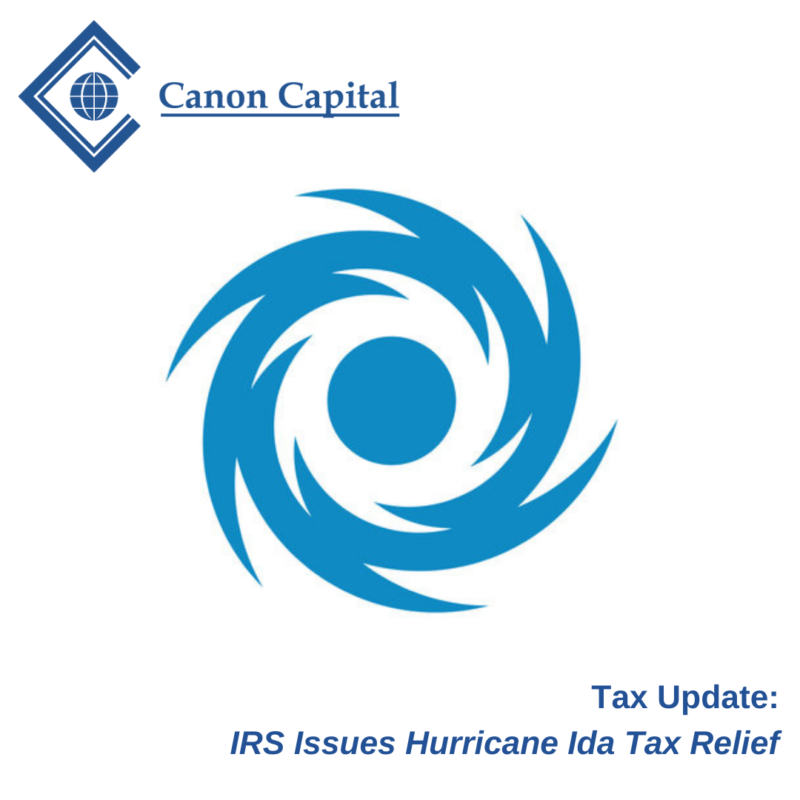 Tax Relief for Victims of Hurricane Ida in Pennsylvania