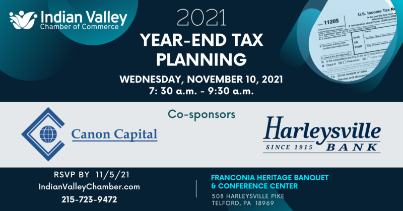 Get Ready with our 2021 Year-End Tax Planning Breakfast Meeting